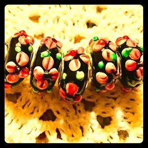 Jewelry - Beautiful Beaded Murano Charms